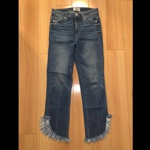 Paige Denim Frayed Jeans